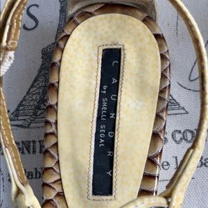 Laundry By Shelli Segal Shoes - Laundry by Shelli Segal sandals sz 6.5